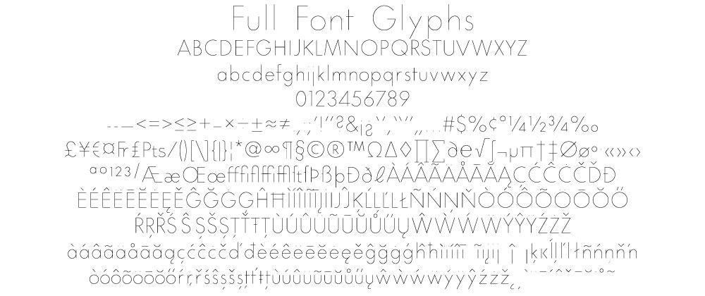 All The Fonts