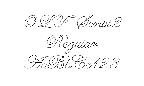 Popular Single Line Regular Fonts Full
