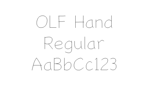 OLF Hand Regular