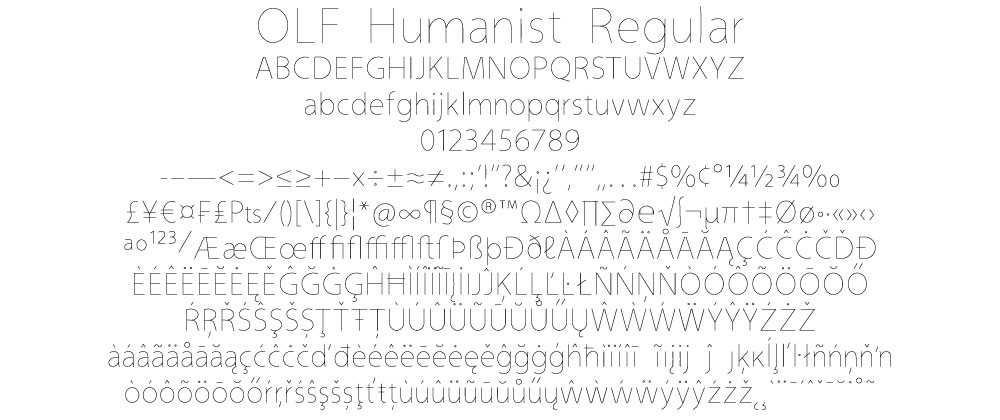 Full Humanist Regular