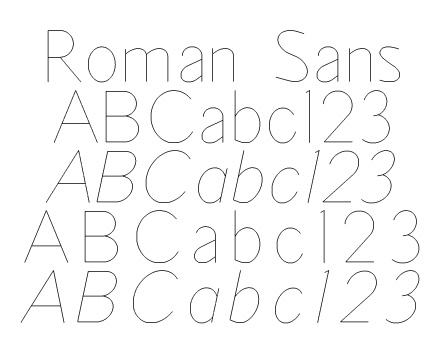 OLF Sans Seraph Fonts